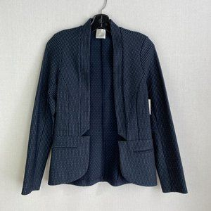 NINETY EIGHT Pattern Blue Blazer NWT